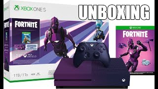 Xbox One S Fortnite Battle Royale Special Edition Console Unboxing