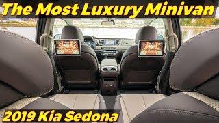 2019 Kia Sedona | The Most Luxury Minivan!