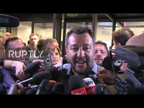 Italy: Salvini calls for new elections 'as soon as possible'