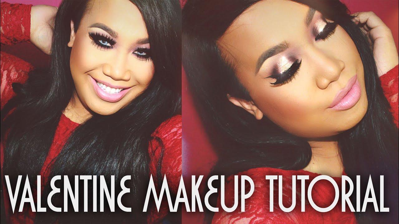 Valentines Day Makeup Tutorial with SonjdraDeluxe | PatrickStarrr ...