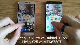 helio x25 vs MTK6750T SPEED Test/Gaming/Benchmark/Comparison/Review(Mali T880 vs Mali T860)