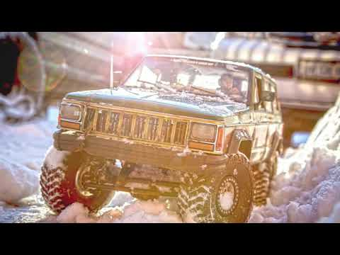 The Great White North Jeep XJ 1:10 Scale - By Supascale RC, 3d Printed Interior By R3 Scale Designz
