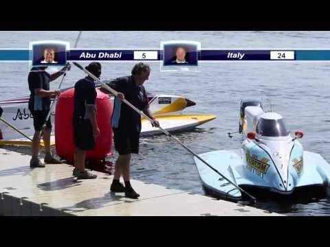 Abu Dhabi International Marine Sports Club Offers A Speed Race For F1 PowerBoat Kiev 2013
