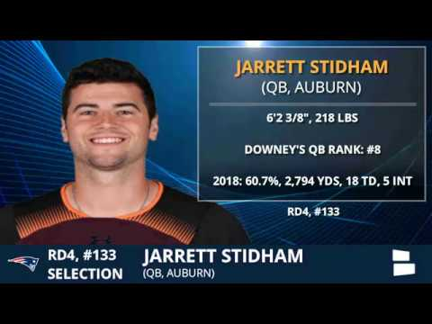4 things to know about new Patriots quarterback Jarrett Stidham