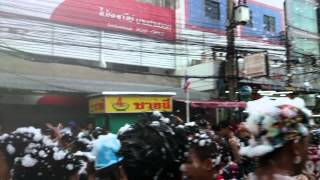 Songkran Festival - Dannok Thailand (Malaysia-Thai border)