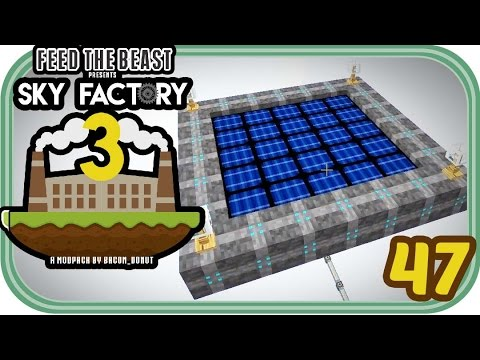 Solar Energie - Minecraft Sky Factory 3 #047 - Deutsch - Chigocraft