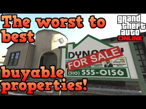 The Worst And Best Properties To Buy In GTA Online