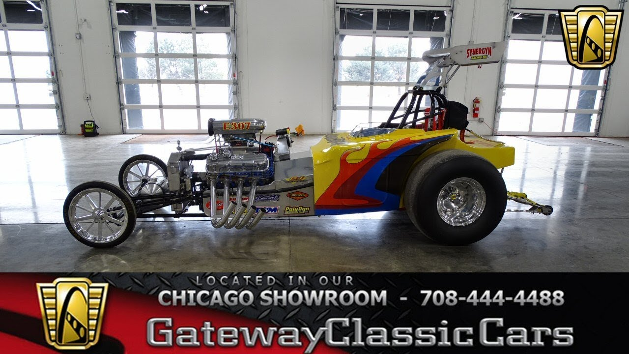 1971 Altered Dragster Gateway Classic Cars Chicago #1351 - YouTube