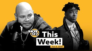 Funk Flex Big Pun Tribute + 21 Savage Update + Liam Neeson Controversy & More on Hot 97 This Week!