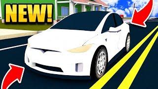 NEW CARS UPDATE!! 2017 TESLA MODEL S AND MODEL X CARS!! (Roblox Vehicle Simulator)