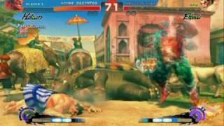 Super Street Fighter 4 - Gameplay Video 23