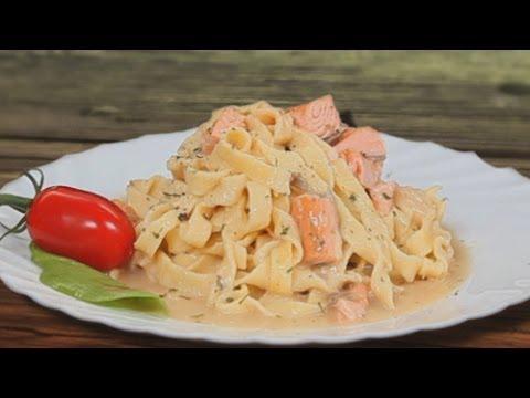 Паста с лососем и паштет из копченой красной рыбы - рецепты Уриэля Штерна