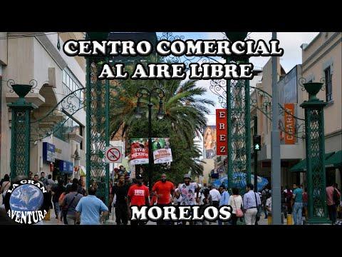 Centro comercial al aire libre: Plaza Comercial Morelos