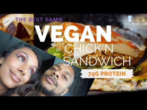 The Best VEGAN Chick'n Seitan Recipe | Vital Wheat Gluten