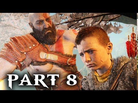 God of War Walkthrough Part 8 - THE LIGHT OF ALFHEIM