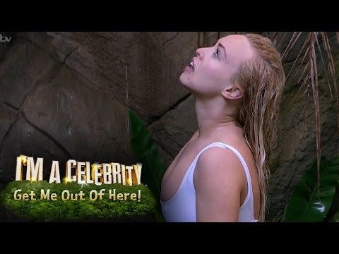 Jorgie Porter Takes A Cold Shower | I'm A Celebrity... Get Me Out Of Here!