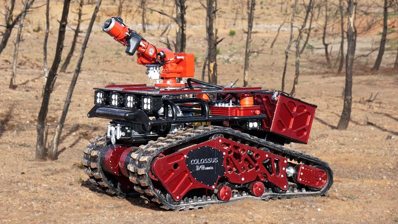 Robots that will take Firefighting to a New Level