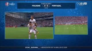 Euro 2016   Portugal vs Pologne 1- 1 sans les tirs au but
