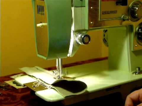VINTAGE DRESSMAKER S40 SEWING MACHINE With Cams YouTube Impressive Dressmaker Sewing Machine Model 2402