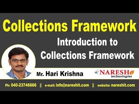 Introduction to Collections Framework | Core Java Tutorial | Mr. Hari Krishna