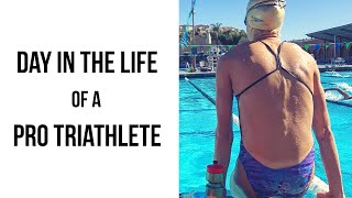 Day in the Life of a Professional Triathlete (Training Day)