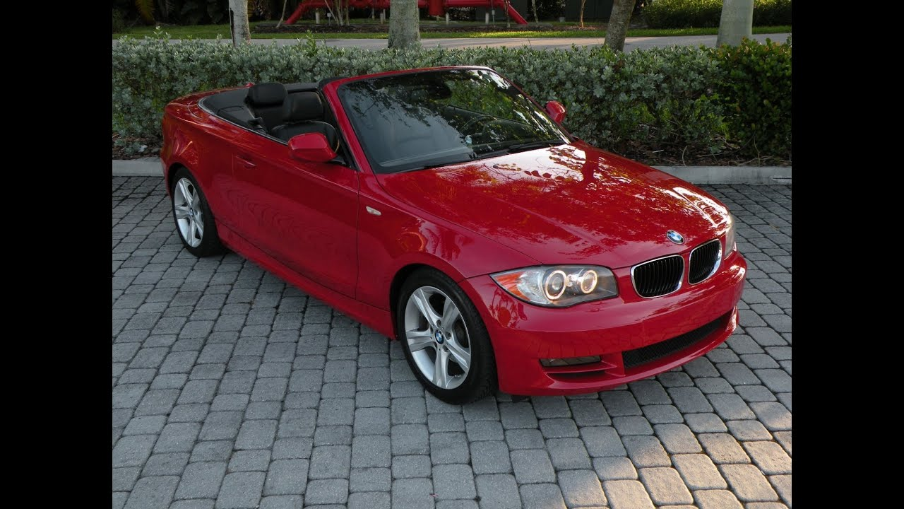 BMW I Convertible For Sale In FORT MYERS FL YouTube - 2010 bmw 128i convertible