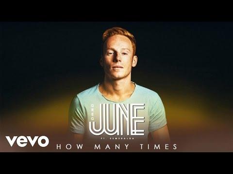 Greg June - How Many Times (Lyrics Video) ft. Esmeralda