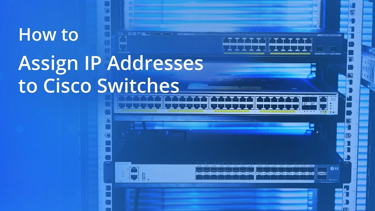 How to Assign IP Addresses to Cisco Switches   FS - Fiberstore