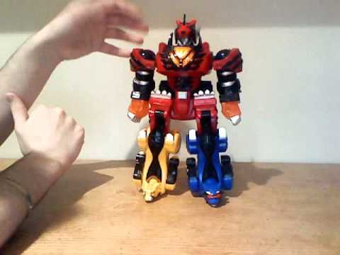 Power Rangers Jungle Fury Jungle Pride Megazord Power Rangers Jungle F...