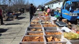 河北省献県地方の市場.wmv