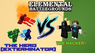 How to defeat the SPEED/FLY/GRAVITY HACKERS! | Roblox Elemental Battleground