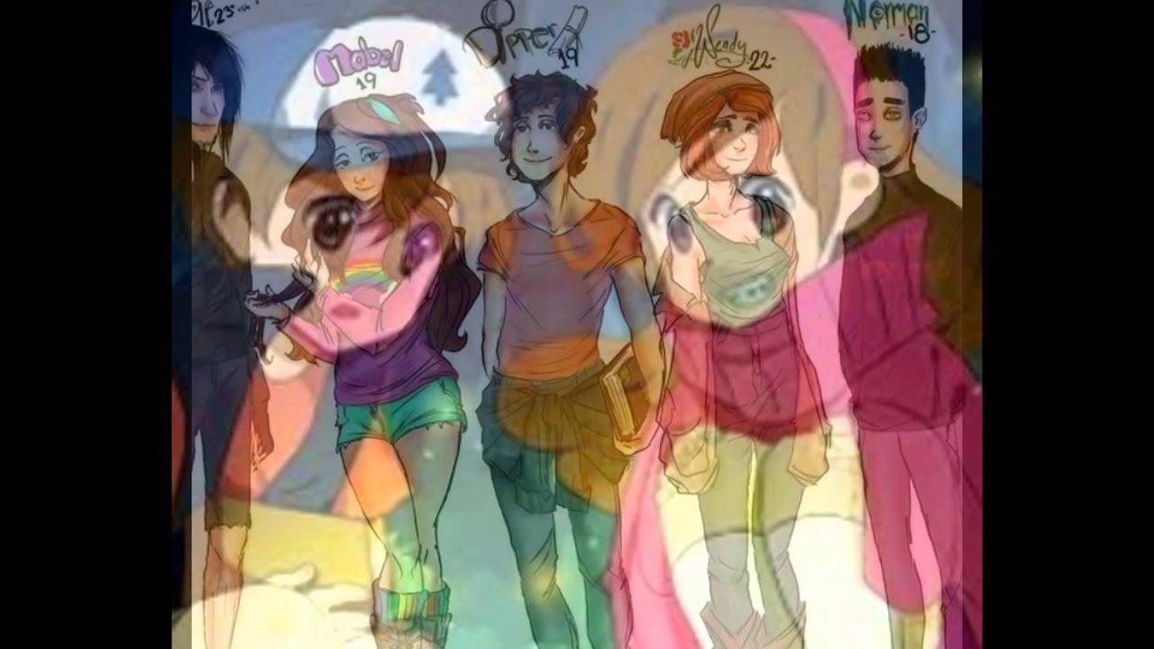 гравити фолз в аниме картинки
