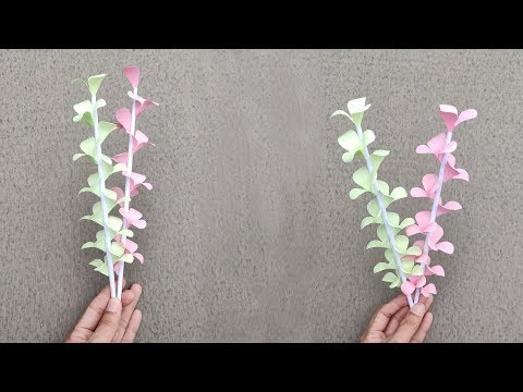 How to Make A Gift Flower | Handmade Gift Ideas | Easy Flowers Making | DIY Paper Crafts