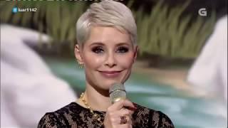 Soraya Arnelas canta Yo brindo (Luar) 05.10.2018