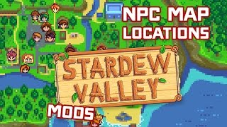 How to Install NPC Map Locations Stardew Valley Mod - Tutorial