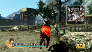 7:55 Dynasty Warrior 8 Fifth star weapon Zhao Yun Prevent the Wu fo...