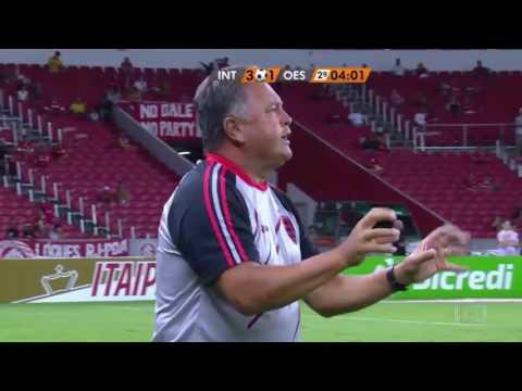 INTER 4 x 1 OESTE - 22/02/2017 - COPA DO BRASIL