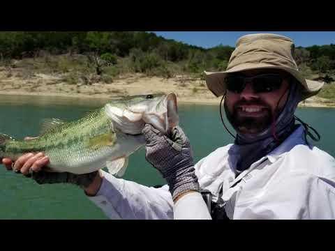 Kayak Fishing Lake Georgetown- PB Bass!!