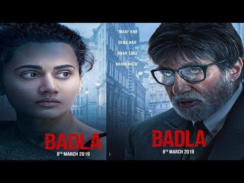 Badla Movie Trailer Release Updates; Amitabh Bachchan, Taapsee Pannu, बदला मूवी ट्रेलर