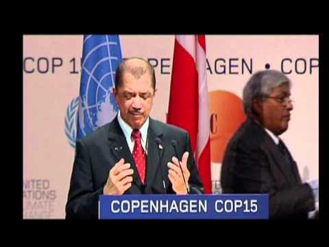 PRESIDENT COPENHAGEN UN CLIMATE CHANGE CONFERENCE 2009