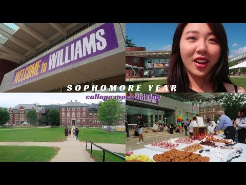 williams college move in + first days of classes 2018 vlog | soapshin