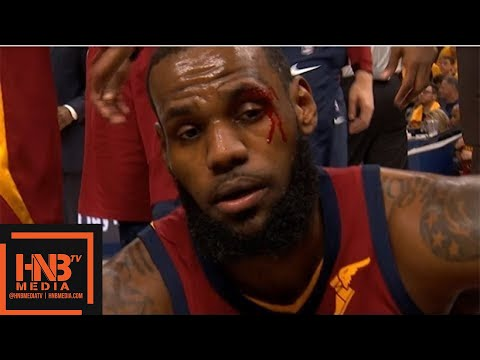 Cleveland Cavaliers vs Indiana Pacers 1st Half Highlights / Game 6 / 2018 NBA Playoffs