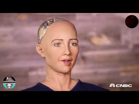 The Dangers of Artificial Intelligence   Robot Sophia makes fun of Elon Musk   A I  2017