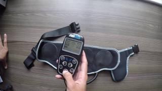 Розпакування та огляд АВ Флекс АВ тонування пояс для струнких тренованих м'язів живота