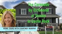 New Homes in Castle Rock Colorado - Coronado Model by Richmond at Terrain