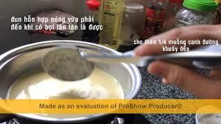 Cách làm bánh Flan đơn giản