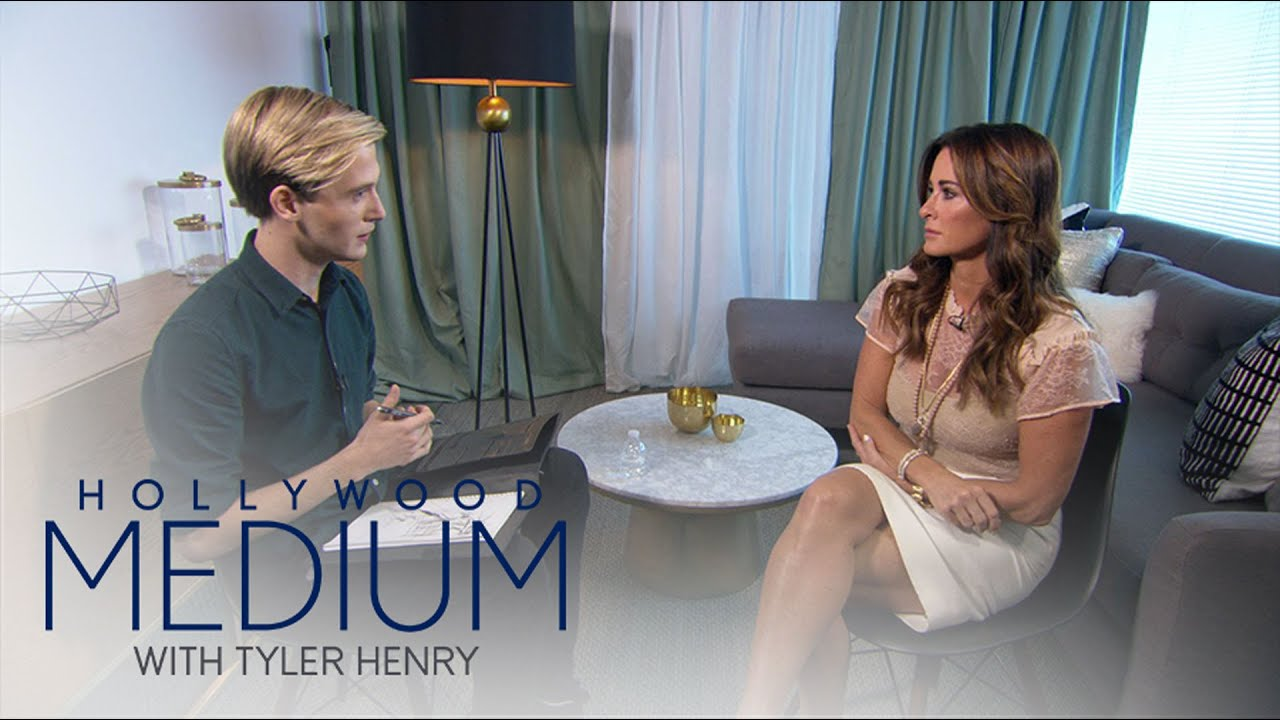 Download Kyle Richards Breaks Down During Reading With Tyler Henry   Hollywood Medium with Tyler Henry   E!