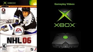 NHL 06 (Xbox) Detroit Red Wings V Toronto Maple Leafs Gameplay (HD)