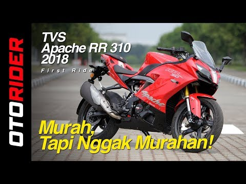 TVS Apache RR 310 2018 First Ride Review Indonesia | OtoRider – Supported by GIIAS 2018