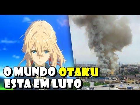 Ataque Criminoso Mata e Destrói Studio de Animação - Kyoto Animation